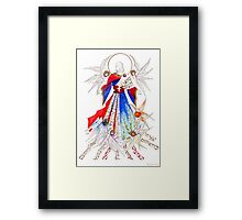 Raise a banner for the nations Framed Print