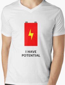 I have potential Mens V-Neck T-Shirt