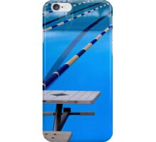 Swimming Pool - Blue & Cool iPhone Case/Skin