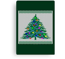 Christmas pullover Canvas Print