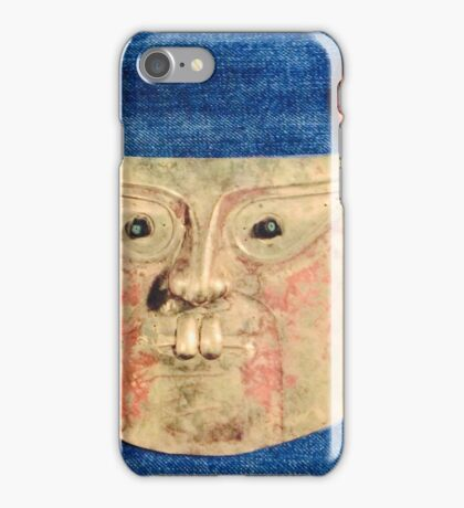 Aztec moon iPhone Case/Skin
