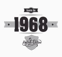 Born in 1968 Kids Clothes