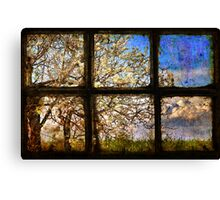 It's spring outside Canvas Print