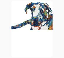 Great Dane Art - Stick With Me - By Sharon Cummings Kids Tee