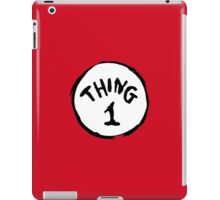 DR. SEUSS THING 1 iPad Case/Skin