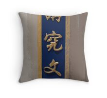 Welcome to China Town Throw Pillow