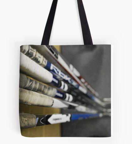 Hockey Sticks Tote Bag