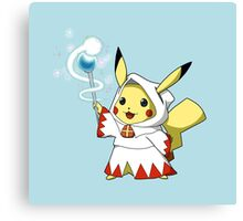 White Mage Pikachu Canvas Print