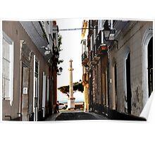 Streets of Cadiz - Calle de Cadiz Poster