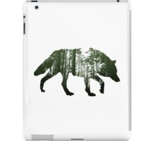 The invisible wolf iPad Case/Skin