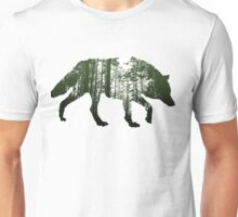 The invisible wolf Unisex T-Shirt