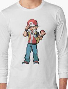 Pokemon Trainer Red Long Sleeve T-Shirt