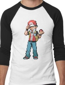 Pokemon Trainer Red Men's Baseball ¾ T-Shirt