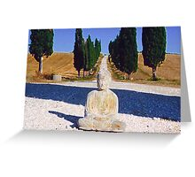 Buddha - Tuscany - 1 Greeting Card