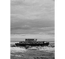 Big Sky Boat Photographic Print