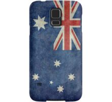The National flag of Australia, retro textured version (authentic scale 1:2) Samsung Galaxy Case/Skin