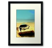 My boat of dreams Framed Print