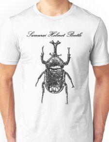 Samurai Helmet Beetle T-Shirt