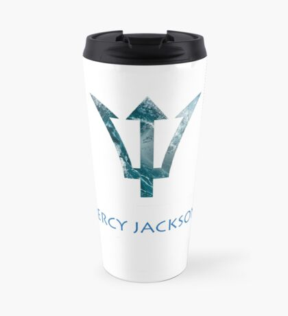 Percy Jackson- Trident Travel Mug