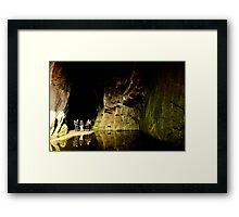 Cathedral Cavern Framed Print