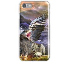 Ivan Meets the Griffin iPhone Case/Skin