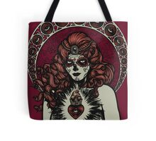 Catrina Sugar Skull Bride Tote Bag