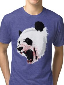 Panda Ladies Tri-blend T-Shirt