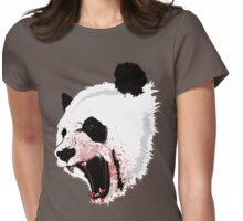 Panda Ladies Womens Fitted T-Shirt