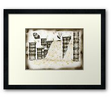 Pioneer city Framed Print