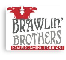 Brawling Brothers Design 3 Canvas Print