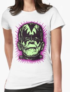 FranKISStein Rock Monster Womens Fitted T-Shirt