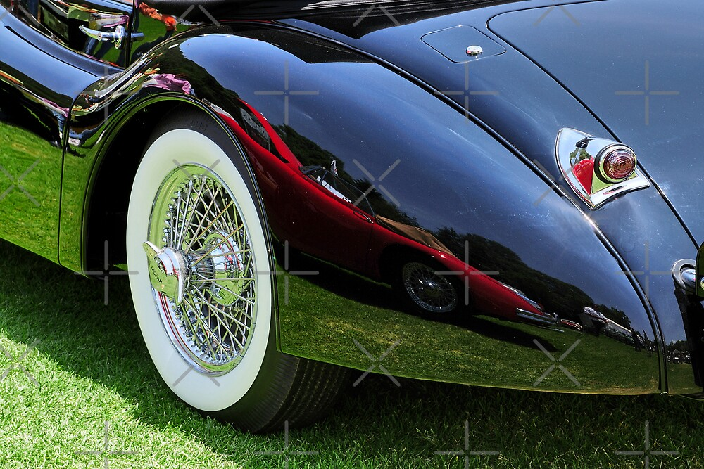 Classic Car Reflection by MaluC