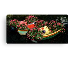 Floating Gardens ~ Part Two Canvas Print