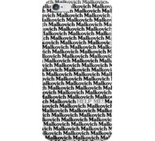 Lost in a Crowd of Malkovich iPhone Case/Skin