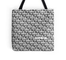 Lost in a Crowd of Malkovich Tote Bag
