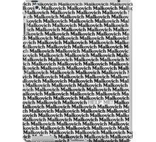 Lost in a Crowd of Malkovich iPad Case/Skin