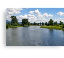 Alouette River 1 Canvas Print