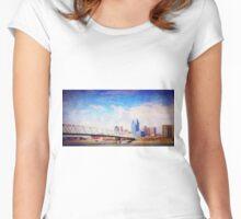 Cincinnati Women's Fitted Scoop T-Shirt