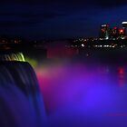 Colorful Niagara falls by PJS15204