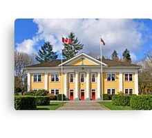Municipal Hall Canvas Print
