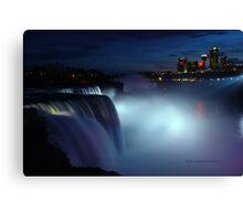 Niagara at dusk Canvas Print