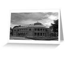 Customs House - Townsville Australia Greeting Card