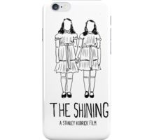Stanley Kubrick's Twins iPhone Case/Skin