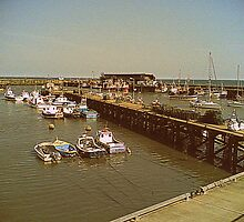Bridlington Harbour by Paul James Farr