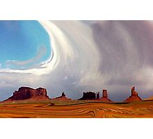 Swirling in Monument Valley Photographic Print