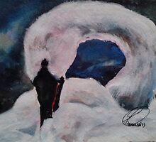 WHITE SWAN(C1993) by Paul Romanowski