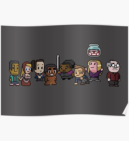 8-Bit Community Poster