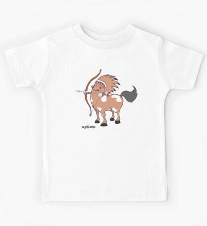 funny zodiac/sagittarius Kids Tee