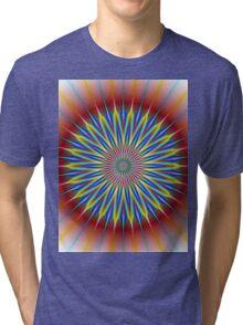 Star Flower Tri-blend T-Shirt