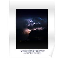 Cloud to Cloud Lightning Poster